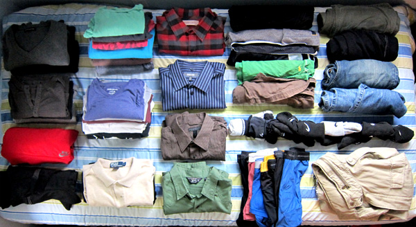 packinglist-Clothes